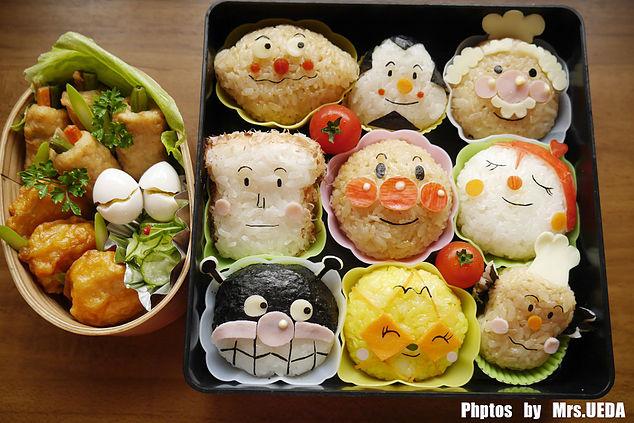 【食譜】麵包超人與夥伴飯糰