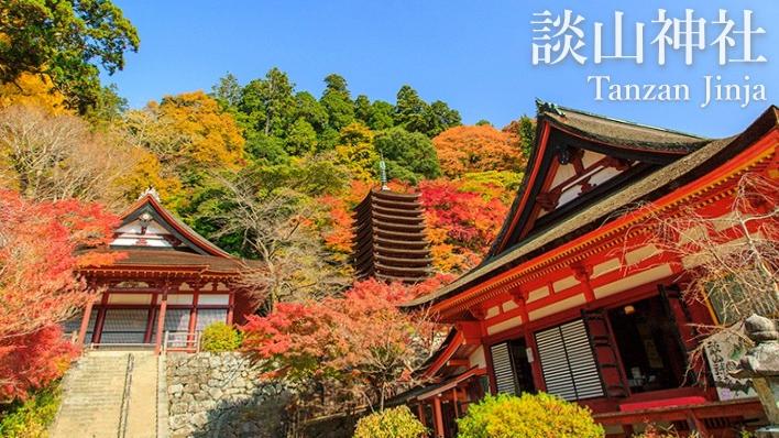 奈良必玩 。不輸東大寺的【談山神社】紅葉秘境絕景!戀愛神社求姻緣!